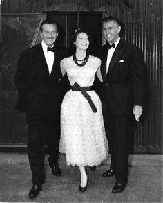 Ava Gardner, David Niven and Stewart Granger