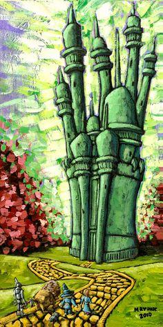Emerald City Oz by MAYDAK
