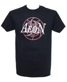 Aeon - Penta Logo Heavy Metal Fashion, Metal Shirts, Menswear, Logo, Mens Tops, How To Wear, T Shirt, Style, Supreme T Shirt