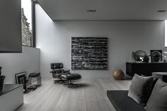 Simple geometry and structural dynamism create a unique residential space in Risskov, Denmark. Villa V3 is designed by ARDESS as a single family home with four levels and an integrated garage, and it's a striking example of modern Scandinavian architectur…