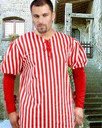 John Nutt Striped Shirt