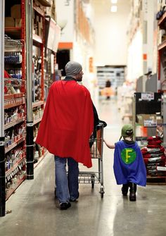 All Dads are Superheroes!