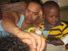 Spending time with orphans (Jeremiah) in Kenya  #greatwalker