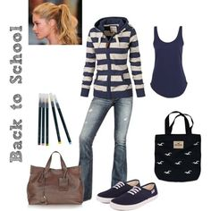 24 Great Back to School Outfit Ideas! The one pictured above is my favorite, without the brown purse.