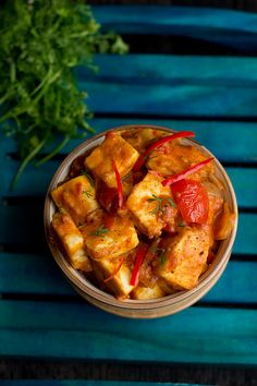 Paneer Taka Tak Recipe- fiery spicy Punjab dish.