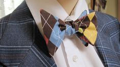 Classic Argyle Bow Tie by Cloutseu on Etsy, $20.00