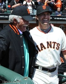 Gaylord Perry and Barry Zito