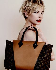 we love this photo: michelle williams x louis vuitton