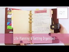 ♥ Life Planning & Getting Organized (My Agenda, Filofax & More) | Rachel Talbott ♥ - YouTube