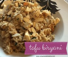 National Soyfoods Month: Easy, one-skillet Tofu Biryani #recipe just in time for #soyfoodsmonth. #ad @soyfoods  Sexy Moxie Mama
