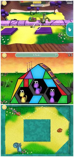 Free Math Game App from PBS Kids - kids learn geometry, spacial reasoning, and problem solving while playing 3D games. #kidsapps #GameApp #MathApp