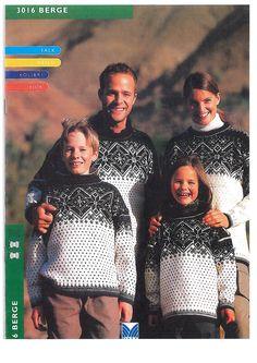 Berge 3016 Vintage Knitting, Knits, Pattern, Mountains, Threading, Projects, Patterns, Knit Patterns, Tuto Tricot