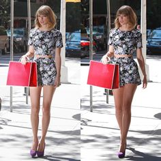 Legs for miles. #taylorswift #taylor #newyork #ootd #fashion #hipster #vintage #commercial #legs