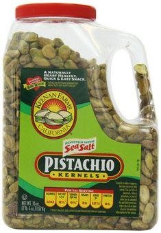 Keenan Farms Shelled Kernel Roasted Pistachio with Sea Salt, Jug: A simple, yet elegant appetizer that will be the hit of your party. Easy Snacks, Healthy Snacks, Cinnamon Pop Tart, Elegant Appetizers, Stuffed Shells, Pistachio, Sea Salt, Pop Tarts, Gourmet Recipes