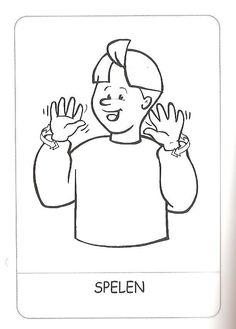 Spelen, gebarentaal.