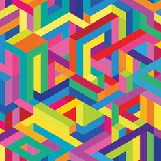 Studio Moross is a creative design studio focusing on art direction, branding, print and moving image set up by graphic artist and art director Kate Moross. Pattern Images, Pattern Design, Kate Moross, Abstract Pattern, Geometric Patterns, Graphic Patterns, Abstract Art, Graphic Design, Op Art