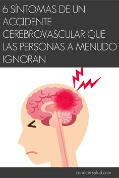 6 síntomas de un accidente cerebrovascular que las personas a menudo ignoran #salud