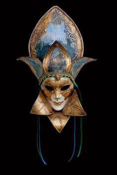 Belvedere Maschera Veneziana Originale Artigianale Fatta A Venezia! | eBay