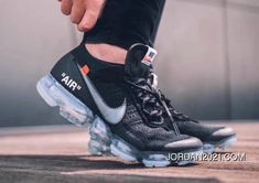 OFF-WHITE NIKE Air VaporMax OW Collaboration Zoom Air Running Shoes AA3831-002-100 Free Shipping