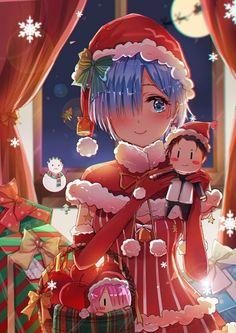 - Re:Zero - crismas Anime Angel, Anime Kunst, Anime Art, Ram And Rem, Re Zero Rem, New Year Art, Anime Girl Neko, Anime Girls, Cute Anime Pics