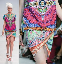 Manish Arora SS14 - Amazing colours and print