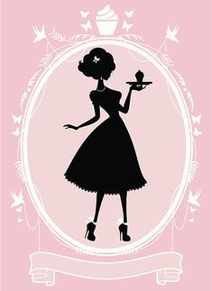 Top 30 Silhouette,Cupcake,Women Clip Art, Vector Graphics and Illustrations - iStock Cupcake Logo, Cupcake Vector, Free Vector Graphics, Vector Art, Logo Chef, Boutique Wallpaper, Lady Logo, Baking Logo, Cake Logo Design