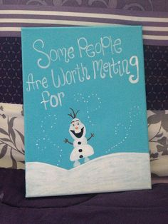 Some People Are Worth Melting For zoeyyyyy Merry Christmas Card, Christmas Cards, Preschool Crafts, Playgroup Activities, Frozen Cards, Homemade Canvas, Winter Painting, Sorority Crafts, Babies First Christmas