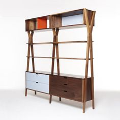 Dare Studio's Dixon Modular Storage Unit is one of their handmade pieces with a mid-century feel.