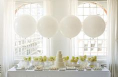 White candy buffet!