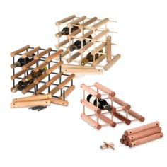 J.k. Adams 40-bottle Wine Rack