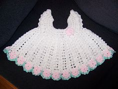 Ravelry: Cherry Blossom Baby Dress pattern by Frances Brown