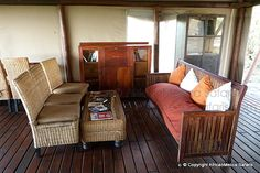 Linyati Bush Camp - Linyanti Safari - Picasa Web Albums Two Twin Beds, Comfortable Sofa, King Size, Albums, Safari, Tent, Camping, Couch, Furniture