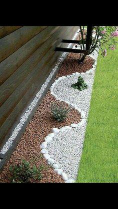 10 Engaging Hacks: Rock Garden Landscaping How To Build garden landscaping ideas fruit.Garden Landscaping Ideas Tips And Tricks. Diy Garden, Dream Garden, Garden Projects, Backyard Projects, Easy Projects, Craft Projects, Landscaping With Rocks, Front Yard Landscaping, Inexpensive Landscaping