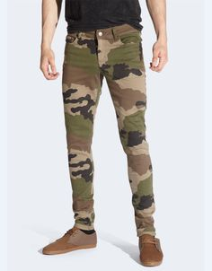 Drop Dead - Camo Signature Trousers - £60