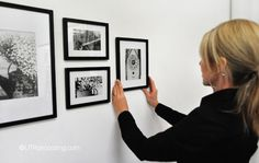 Easy tips to help you hang your pictures exactly where you want on the first try.