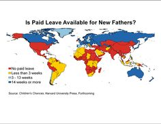 In honor of Father's Day, a chart on countries which offer paid family leave to fathers