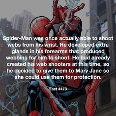 Spidey Fact #473
