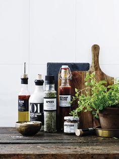 Los productos no solo son buenos son muy decorativos también en una #cocina #nicolasvahé #estilonordico