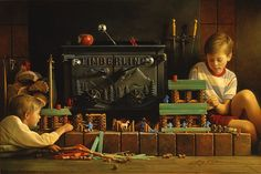 Lincoln Logs - Greg Olsen