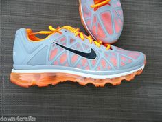 Nike Air Max 2011 Brown Mens Running Trainers Shoes