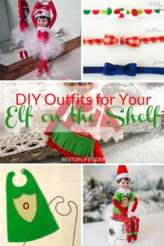 DIY Elf on The Shelf clothes can help spark that creativity that you need to have fun again plus there are a few things that can help. via @AmyBarseghian