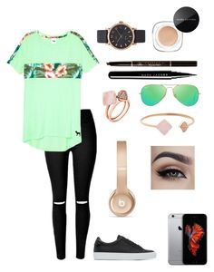 """""""Casual Life AF"""" by itsamandarose on Polyvore featuring Marc Jacobs, Anastasia Beverly Hills, Ray-Ban, Givenchy, Michael Kors and Beats by Dr. Dre"""