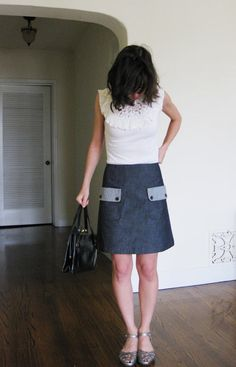 Linen skirt and dress and other sewing ideas