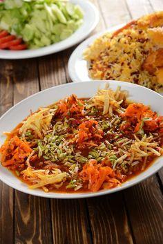 قیمه مرصع شیرازی - آشپزی و شیرینی پزی سانازسانیا