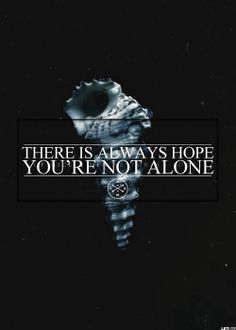 Of mice and men - You're not alone lyrics