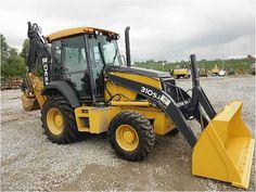 Our Featured Backhoe is a 2010 John Deere 310SJ, 316 Hrs., Cab, A/C, 4x4, Ext, Aux Hyd, Ride. We have a great selection of John Deere Backhoes that are begging to be put to the test! Check them out at http://www.rockanddirt.com/equipment-for-sale/JOHN-DEERE/backhoes