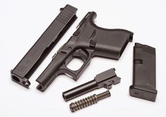Meet the reliable, single-stack, Glock 43 in -- an ultra-compact primary backup pistol that is always ready for duty. North Carolina, 9mm Pistol, Revolvers, Concealed Carry Weapons, Tactical Life, Night Sights, You Magazine, Survival Equipment, Firearms