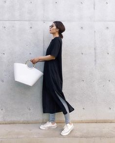 Modest Outfits, Summer Outfits, Casual Outfits, Fashion Outfits, Womens Fashion, Office Fashion, Work Fashion, Japanese Minimalist Fashion, Simple Style