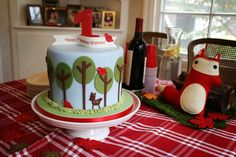 Forest Friends cake. Image by Lindsay Garvey