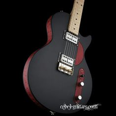 Red Rooster fitted with twin Lollar humbuckers - a tone monster!